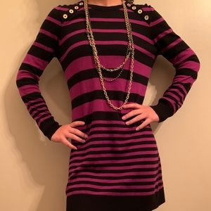michael kors sweater dress. comfortable. chic.